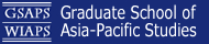 Graduate School of Asia-Pacific Studies