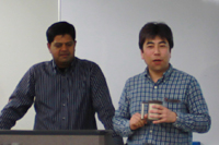 Speaker, Dr. James Gomez and Facilitator, Yasushi KATSUMA
