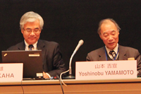 The Development of Asian Regional Integration — Security Dimension / Presentation: Tsuneo AKAHA (Professor, Monterey Institute of International Studies; Visiting Professor, Institute of Asia-Pacific Studies, Waseda University)  / Discussant: Yoshinobu YAMAMOTO (Visiting Professor, Institute of Asia-Pacific Studies, Waseda University; Professor Emeritus, Tokyo University)